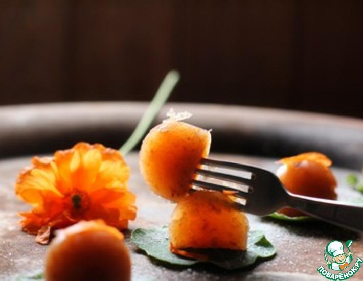 Мармелад из фруктового жмыха