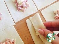 Закусочные пирожки-конфетки ингредиенты