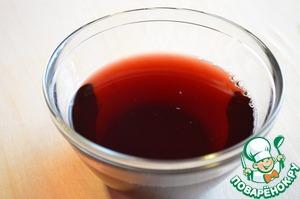 1. Из свежих вишен вынуть косточки выжать сок ( соковыжималкой, подручными средствами, можно через марлю), разбавить его водой 1:1