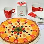 Тарт с ягодой и кремом Патисьер