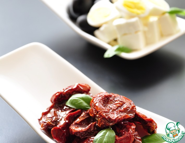 Рецепт: Вяленые томаты длительного хранения без холодильника-2