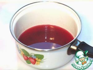 Шоколадно-фруктовое суфле с печеньем – кулинарный рецепт