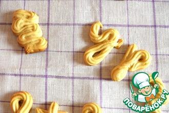 Рецепт: Печенье «Буковки»