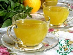 Рецепт Апельсиновый кисель с лимоном