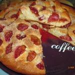 Пирог со сливами Вкуснота