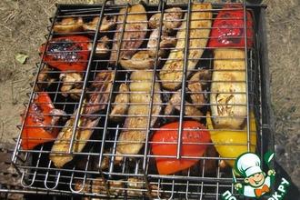 Рецепт: Овощи-гриль 9 minute маринатор от Рустама