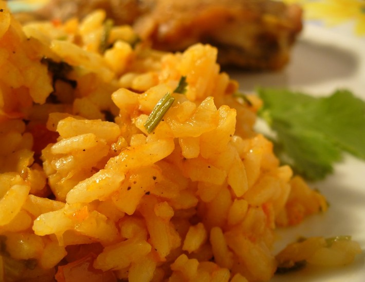Рецепт: Гарнир из риса