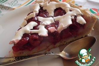 Рецепт: Вишневый пирог