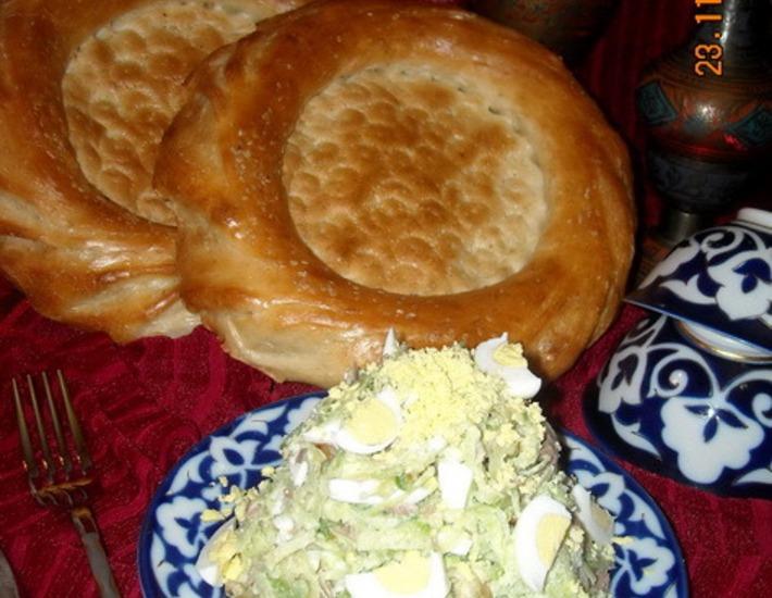 Рецепт: Салат Ташкент