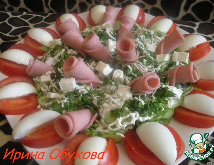 """Рецепт: Салат """"Фантазия"""""""