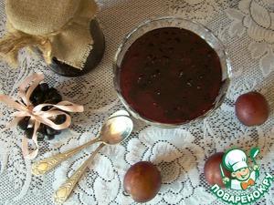 Рецепт Варенье из черноплодной рябины (аронии) со сливами