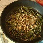 Зеленая фасоль с острым сыром