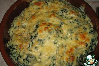 Рецепт: Цветная капуста под соусом Бешамель