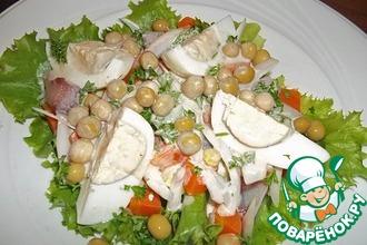 Рецепт: Салат c авокадо и сельдью