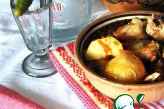Рецепт: Охотничий суп Шулемка