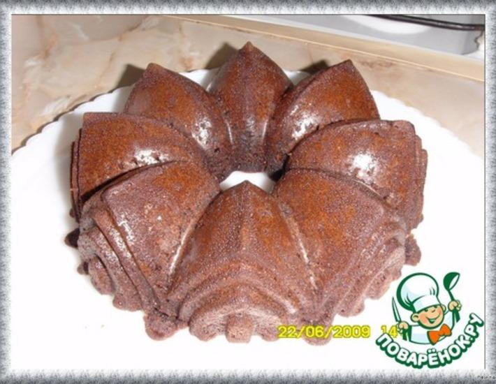 Рецепт: Шоколадный торт с кока-колой