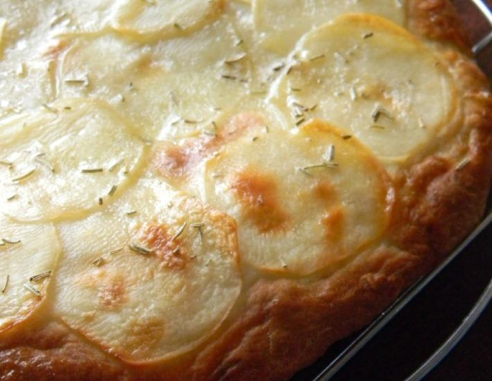Рецепт: Фокачча с картофелем