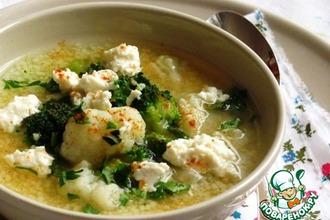 Рецепт: Быстрый суп с кус-кусом