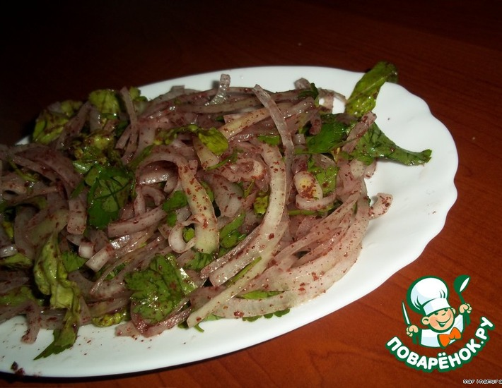 Рецепт: Традиционный турецкий салат для шашлыка