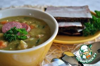 Рецепт: Снерт-голландский гороховый суп