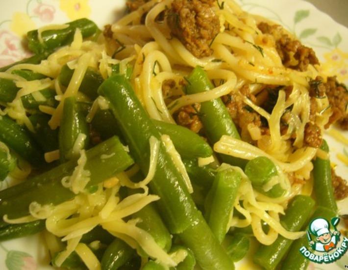 """Рецепт: Салат из зеленой фасоли """"ФаСольный"""""""