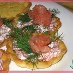 Тарталетки Морские на картофельном тесте