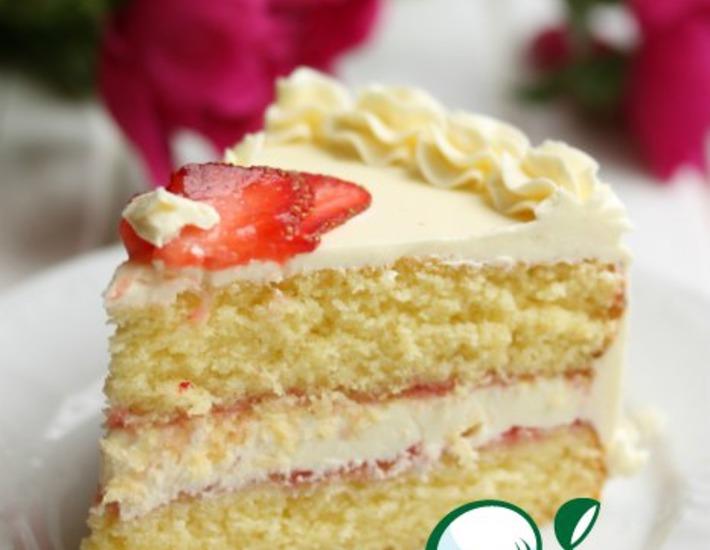 Рецепт: Белый торт