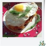 Завтрак Горячий бутерброд с яйцом