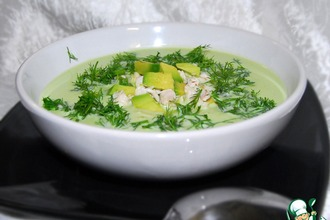 Рецепт: Суп из авокадо