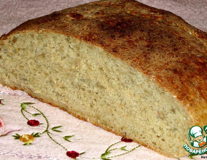 Овсяный хлеб с кукурузой – кулинарный рецепт