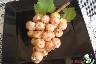 Рецепт: Десерт Арбузная гроздь