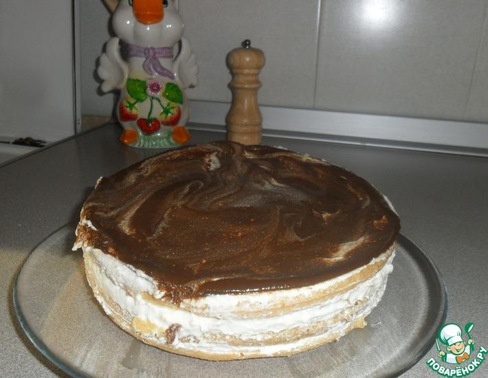 Рецепт: Воздушный тортик по Дюкану