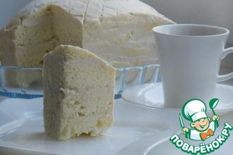 Рецепт: Торт в микроволновке Снежный
