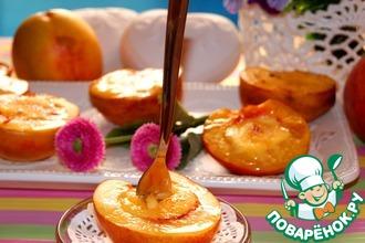 Рецепт: Нектарины и персики крем брюле