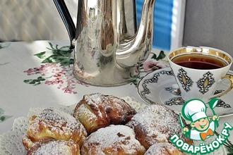 Рецепт: Пончики Венские прачки