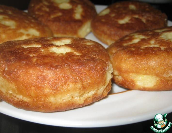 Рецепт: Пшенно-творожные сырнички
