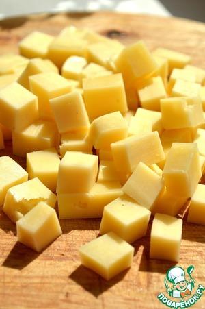 Закуска из шампиньонов с сыром на шпажках Шампиньоны