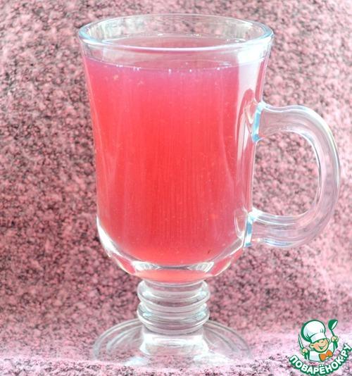 Ежевично-вишнево-клубничный кисель – кулинарный рецепт