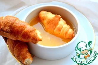 Рецепт: Десертный соус Яблоко-банан-апельсин
