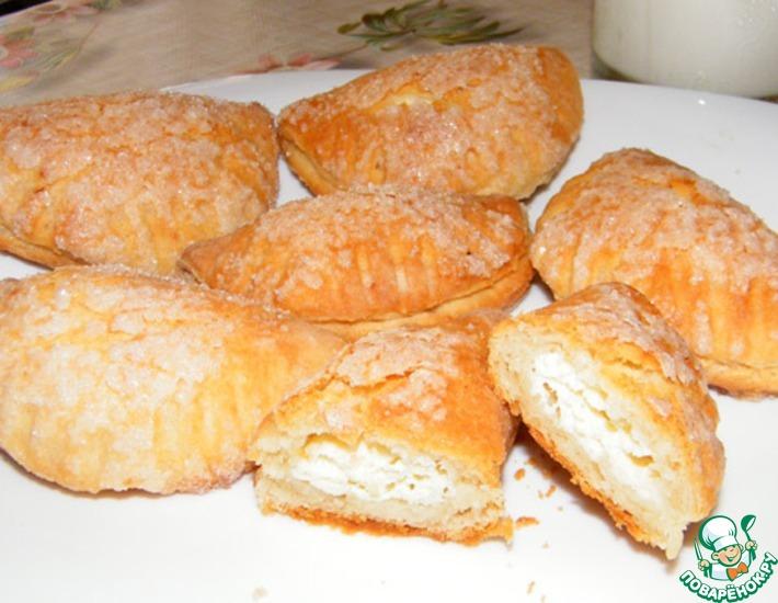 Рецепт: Печенье Творожные вареники