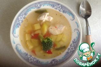 Рецепт: Быстрый диетический суп