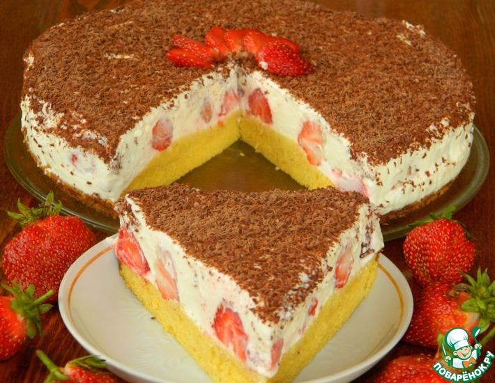 Рецепт: Торт Ягодное наслаждение