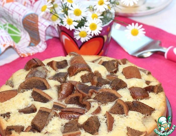 Рецепт: Кофейный бисквит в мультиварке