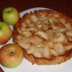 Яблочно-овсяный пирог Блаженство