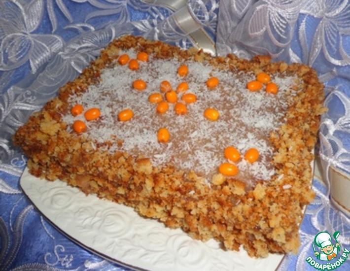 Рецепт: Торт Облепиховое наслаждение