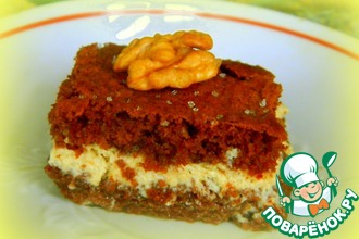 Рецепт: Нежные пирожные с орехами
