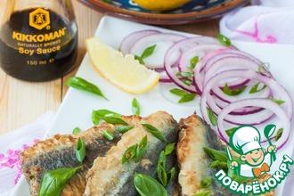 Рецепт: Жареная рыба с зеленью по-мароккански