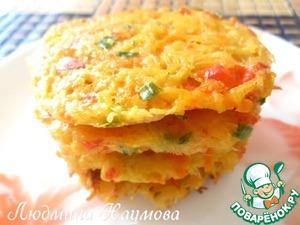 Рецепт Деруны с овощами