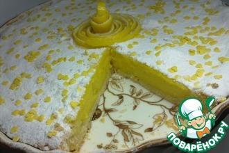 Рецепт: Пирог лимонно-манговый