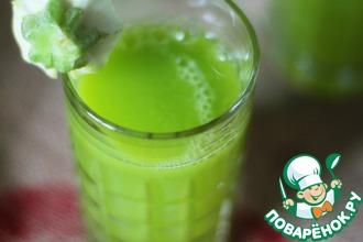 Рецепт: Сок из кабачков и кабачковые оладьи